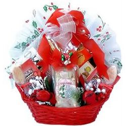 Best Wishes for A Wonderful Holiday Gift Basket