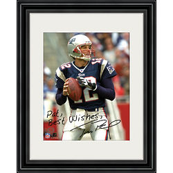 Tom Brady Personalized Framed Photo