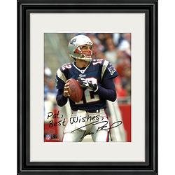 Tom Brady Personalized Framed Photo