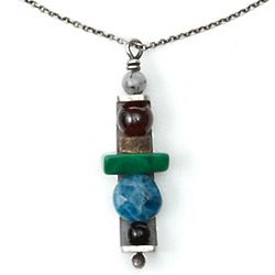Custom Totem Stones Necklace
