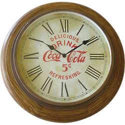 Vintage Coca-Cola Wall Clock