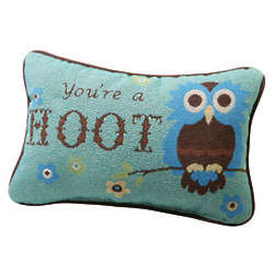 You're a Hoot Accent Pillow