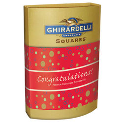Congratulations Squares Chocolate Box