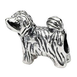 Sterling Silver Puppy Charm