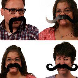 Elastic Mustaches