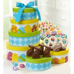 Hoppy Easter Assorted Sweets Gift Tower