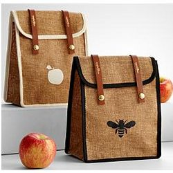 Apple and Bee Eco Lunch Satchel