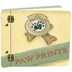 Dog Prints Mini Photo Album
