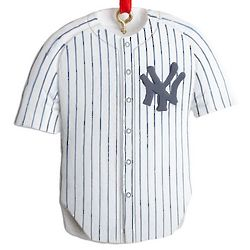 Personalized New York Yankees Jersey Ornament