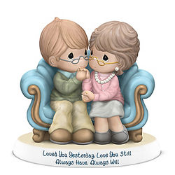 Precious Moments Loved You Yesterday, Love You Still Figurine