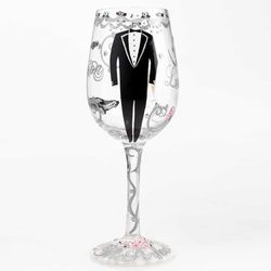 Groom Wine Glass