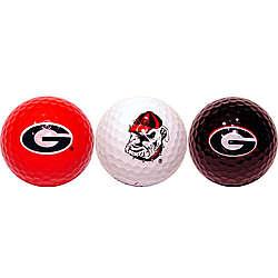 University of Georgia Golf Ball Set