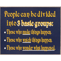 People Can Be Divided Sign