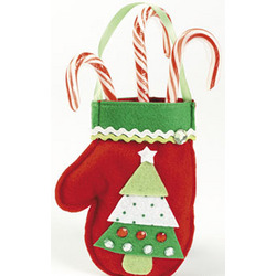 Mitten Treat Bag Craft Kit