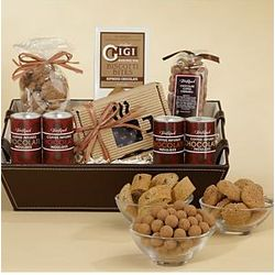 Deluxe Coffee Inspired Chocolate Gift Basket
