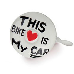 This Bike Is My Car Bike Bell