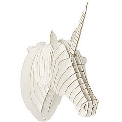 Cardboard Unicorn Head Kit