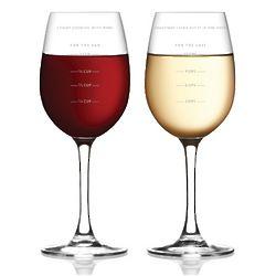 Sauced Measuring Wine Glass