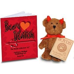 Beary Devilish Teddy Bear Gift Set