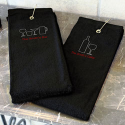 Personalized Bar Towel
