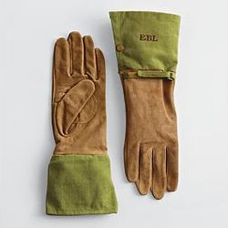 Green Size Small Gardening Gloves