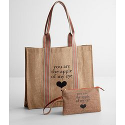 Eco-Shopping Bag and Wristlet Set