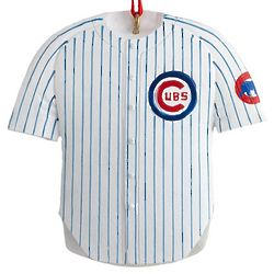 Personalized Chicago Cubs Jersey Ornament
