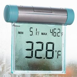Window Thermometer with Digital Display