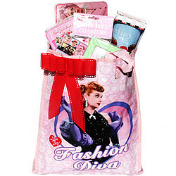 I Love Lucy Lucille Ball Gift Set Tote