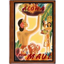Maui 3 Vintage Travel Art Handmade Leather Photo Album