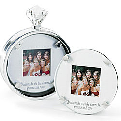 Bridesmaid Diamond Ring Picture Frame