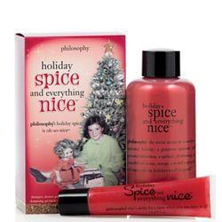 Holiday Spice Shamppo and Lip Gloss
