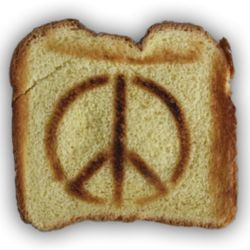 Peace Sign Toaster