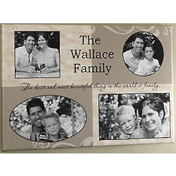 Personalized Family Photo Collage 24x36 Canvas
