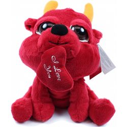 Plush Devil Peepers with Heart