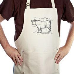 Bullheaded Man's Kitchen Apron