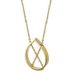 Gold Petal Necklace