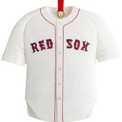 Personalized Boston Red Sox Jersey Ornament