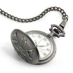 Antique Brass Fireman's Pocket Watch