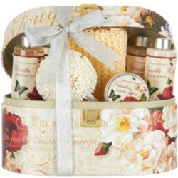 Vanilla Rose 7-Piece Bath and Body Gift Box