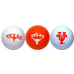 University of Texas Golf Ball Set