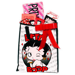 Betty Boop Gift Set Tote