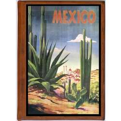 Mexico 2 Vintage Travel Art Handmade Leather Photo Album