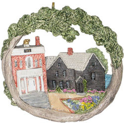 House of Seven Gables AmeriScape Ornament