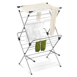 2 Tier Mesh Top Drying Rack