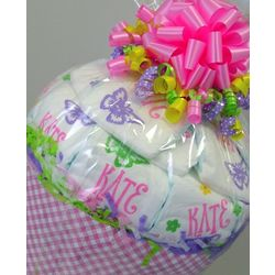 Personalized Diaper Half Bushel Gift Basket