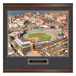 Boston Red Sox Strike One Framed Photo