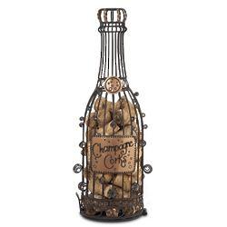 Champagne Wine Cork Cage