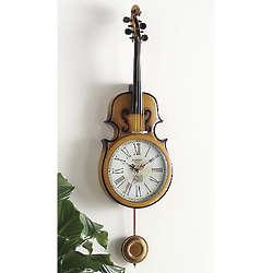 Amadeus Violin Wall Clock