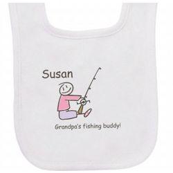 Fishing Buddy Baby Bib